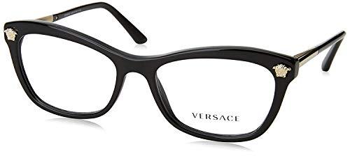 Versace VE3224 Eyeglass Frames GB1-54 - Black ()