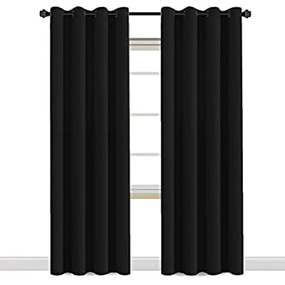 """H.VERSAILTEX Blackout Curtains for Bedroom/Living Room, Length 63""""/72""""/84""""/96""""/108"""", Multi Colors, Room Darkening Thermal Insulated Grommet Window Curtains - 2 Panels from H.VERSAILTEX"""