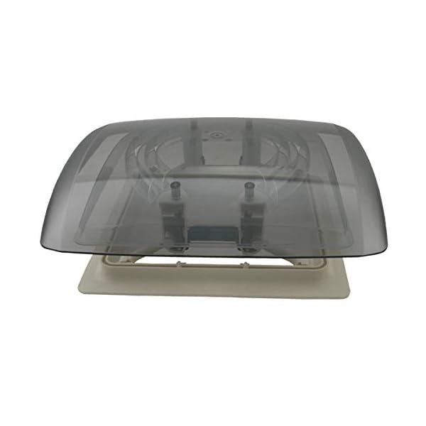 31Eu%2BksGSZL MPK Vision Vent S pro getönte Klarglas Dachluke Dachfenster Dachhaube Doppellplissee Insektenschutz 28 x 28 Wohnwagen…
