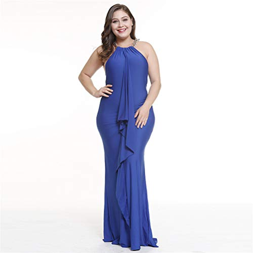 Buy attention plus women's plus wrapped maxi dress