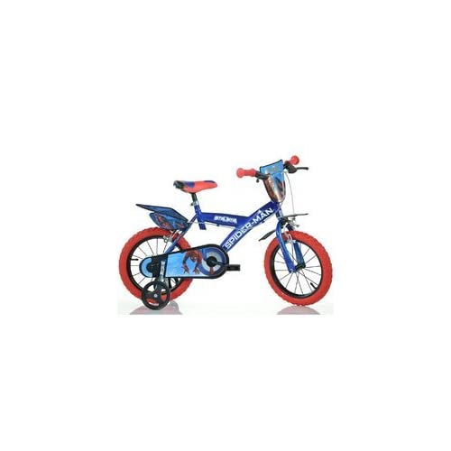 Image of Balance Bikes Dino Bikes 143G-SPH Marvel Spider-Man Homecoming 14' Bicycle, Multi-Colour, 60 x 80 cm