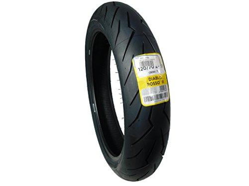 Pirelli Diablo Rosso 3 Front Tire (120/70ZR-17) (Pirelli Diablo Rosso 2 190 50 Zr17)