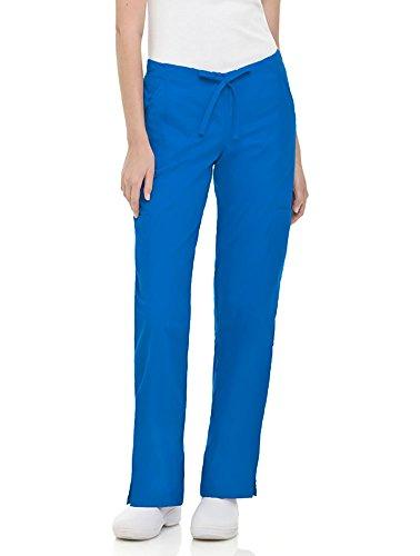 Landau Women's Modern Fit Dual Pocket Cargo Scrub Pant Small (Bep Landau)