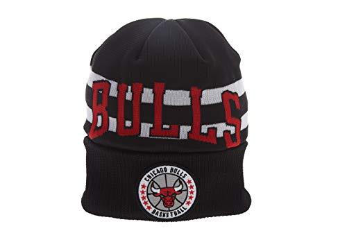 Chicago Bulls Court Series - New Era Nba18 Tip Off Series Knit Chicago Bulls Style: 11790668-BLK Size: OS Black