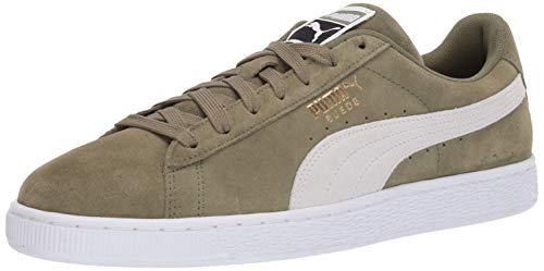 f0f43e3823f43 PUMA Men's Suede Classic Sneaker Olivine Black, 10.5 M US