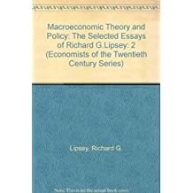 Amazon richard g lipsey books biography blog audiobooks macroeconomic theory and policy the selected essays of richard g lipsey economists of fandeluxe Images