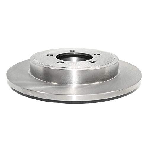 - DuraGo BR54098 Rear Solid Disc Brake Rotor