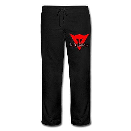 Duola Women's Sweatpants Memory LS Racer Symbol Black Size - Socks Cruise Tom