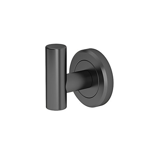 Gatco 4245MX Latitude II, Robe Hook, Matte Black