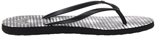 White Roxy Black UK Bermuda Print 6 Sandals 8HxHFUnwA
