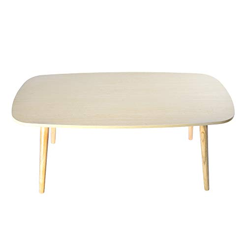 Elaco 12mm Desktop Thickness Wood Materials Nordic Minimalist Modern Small and Medium-Sized Coffee Table 39.3719.68 Inch 7700g Yellow