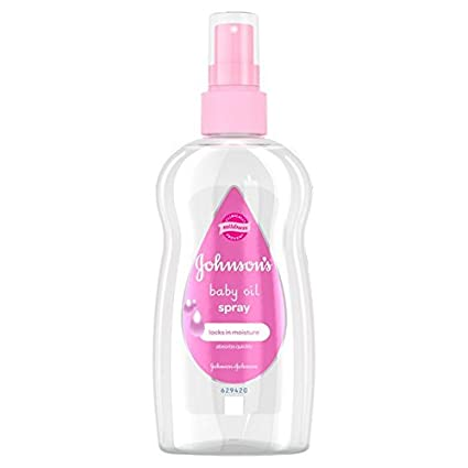 Johnson's Baby Light Oil Spray, 200ml JOIMO 2513142