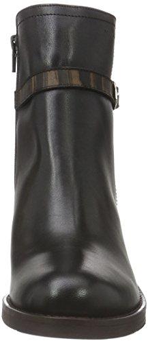 Marc Shoes Savona, Zapatillas de Estar por Casa para Mujer Negro - Schwarz (Black 00009)