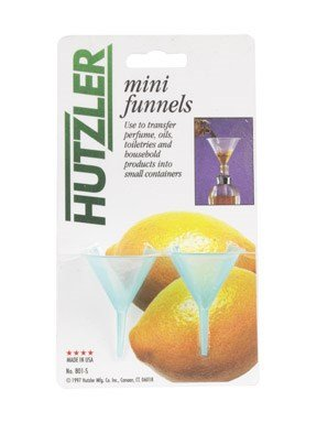 Hutzler 801-S Polypropylene Mini Funnel Pack 2 Count