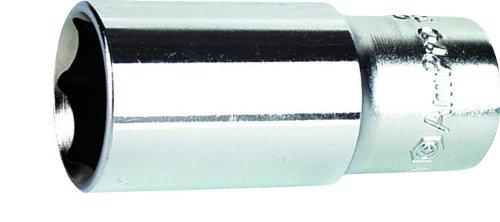 Ampro T335519 Douille Longue 1/2' avec 6 Pans, 19 mm