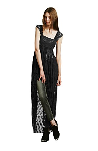 ca fashion black dress - 2