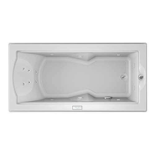 (Jacuzzi FUZ7236WRL4CHW Fuzion 7236 Whirlpool Bath Undermount, White)