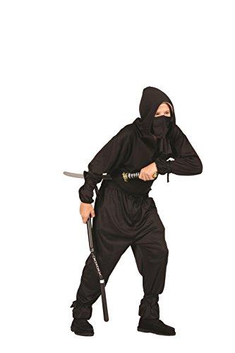 Black Ninja Teen Costume ()