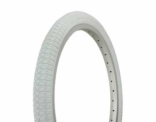 "Duro BMX Colored 20"" X 1.75"" Tire By Sgvbicycles (White)"