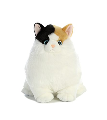 - Aurora World Fat Cats Munchy Calico Plush