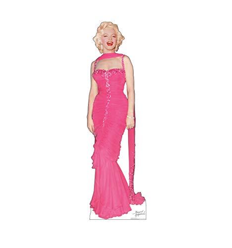 Advanced Graphics Marilyn Monroe Pink Dress Life Size Cardboard Cutout Standup -
