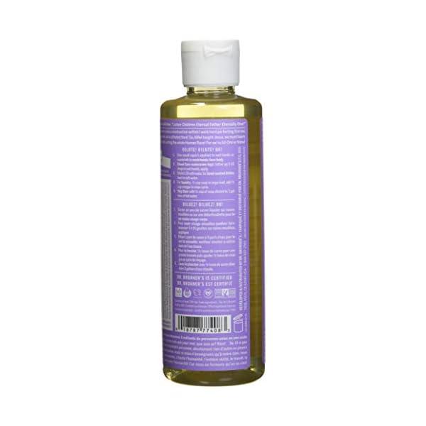 Dr. Bronner's Organic Lavender Pure-Castile Liquid Soap, 237 ml