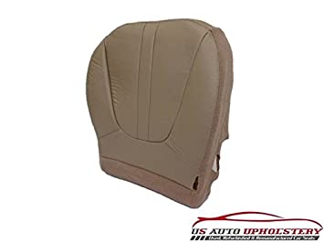 97 99 Ford Expedition Eddie Bauer DRIVER Bottom Replacement Leather Seat Cover TAN