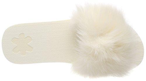 flip*flop Slim Pool Fur, Bout Ouvert Femme Ecru (Marshmallow 1320)
