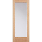 Masonite 32 in. x 80 in. Full Lite Unfinished Fir Front Exterior Door Slab - 87360 - The Home Depot