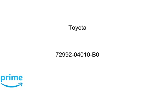 TOYOTA Genuine 72992-04010-B0 Seat Cushion Cover