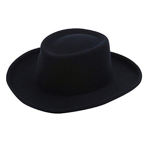 SS/Hat Women's Gambler Felt Hat-Navy OSFM