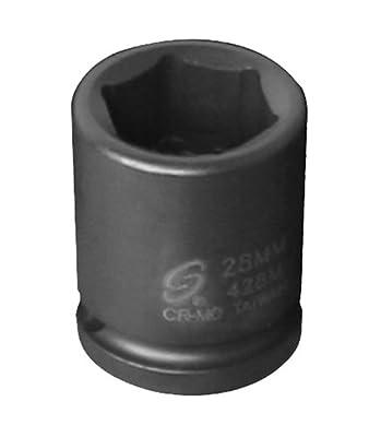Sunex 248 1/2-Inch Drive 6 Point Impact Socket 1-1/2-Inch