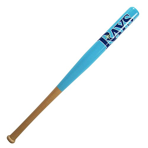 Tampa Bay Rays Official MLB Sky Blue Baseball Bat by Coopersburg Sports 191245