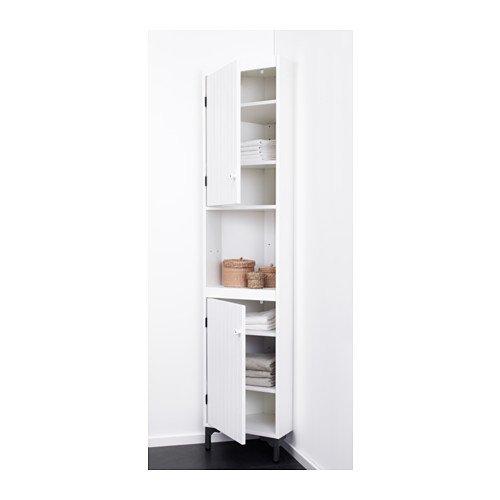 IKEA Silverån - Eckschrank, weiß - 40 cm: Amazon.de: Küche & Haushalt