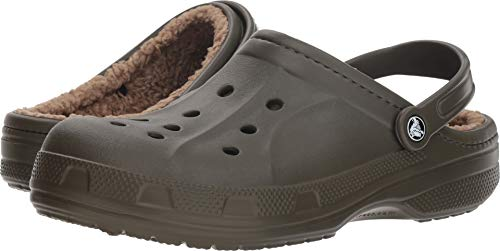 - Crocs Unisex Winter Clog Dark Camo Green/Khaki 8 Women / 6 Men M US Medium