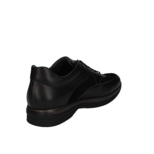 2 Di nero Cesare Pelle Nero Paciotti Uomo Sneakers P EA05 wOUxqRI
