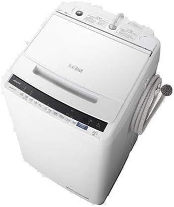 日立 8.0kg 全自動洗濯機 ホワイトHITACHI
