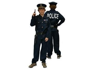 Traje de policía para niños Talla 104: Amazon.es: Juguetes y juegos