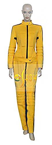 Mtxc Women's Kill Bill Vol. 1 Cosplay The Bride Sport Suit Size X-large Yellow