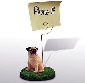 Pug - Memo Holder - New Desk Top Gift