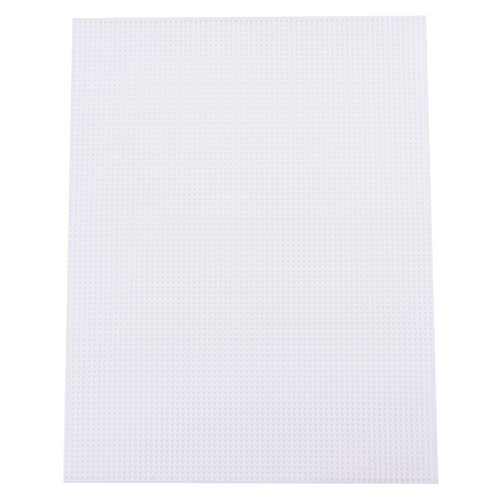 "Tosnail 20 Pack 7 Count Clear Plastic Mesh Canvas Sheets for Embroidery Crafting - 10.5"" x 13.5"""