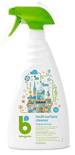Babyganics Multi Surface Cleaner, Fragrance Free, 32 oz