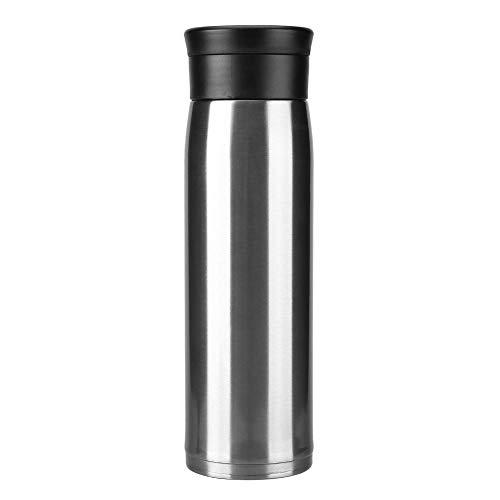 FidgetGear 550ml Travel Mug Watter Tea Vacuum Insulated Stainless Steel Thermal Cup Bottle Silver from FidgetGear