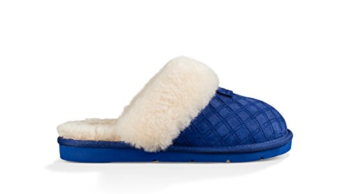 Ugg Womens Cozy Double Diamond Holiday Box Slippers Night Sky T3EbElVdv