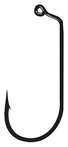 Hook Round Bend Gamakatsu Treble - Gamakatsu Jig Hook 60 Round Bend (25-Pack), Bronze, Size: 1/0
