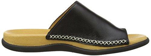 Gabor Shoes Gabor - Zapatillas de estar por casa para mujer Black (Black Leather)