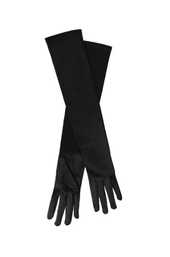 Price comparison product image Heritage Lace Downton Abbey Lady Mary Elbow Length Dinner Gloves,  Black