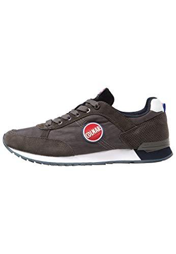Lacci Sneakers 44 Grigio Uomo Gray navy Colmar Scarpe Travis 1avqRwR6Y