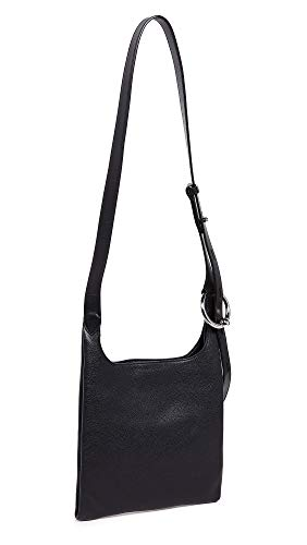 Rebecca Minkoff Women's Karlie Small Feed Bag, Black, One Size (Feed The Bag)