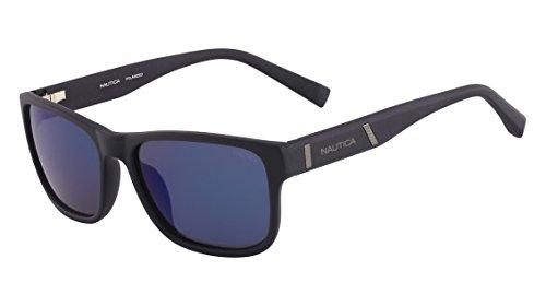 Amazon.com: Nautica anteojos de sol n6190s 316 Azul Marino ...